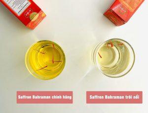 Saffron Bahraman chính hãng có sợi nhụy to, dài, đỏ đều