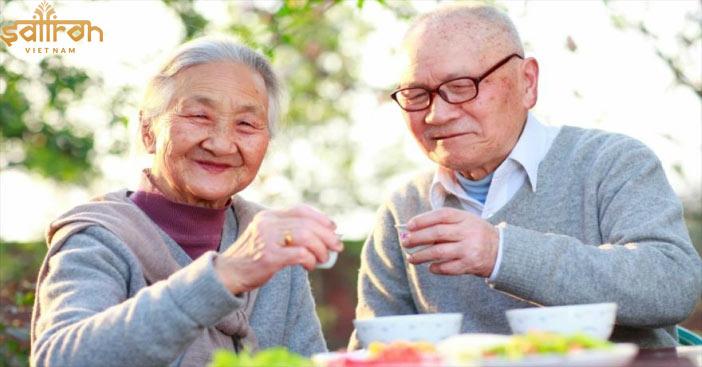 Công dụng của Saffron Bahraman cho người già