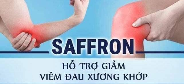 Giảm sưng đau viêm khớp - Tác dụng của Saffron Bahraman với người già