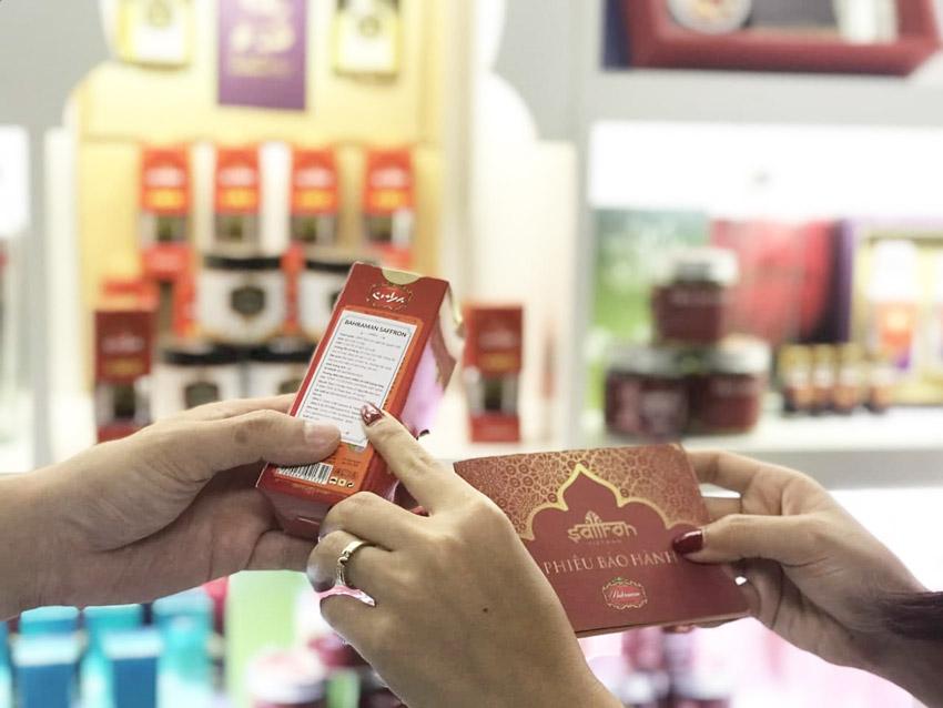 Cách mua saffron chính hãng