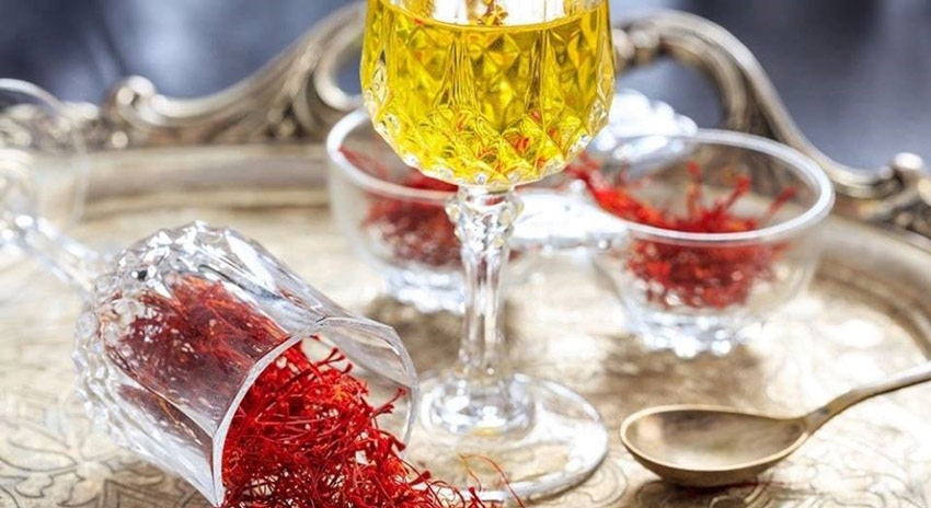 Công dụng của rượu ngâm Saffron nguyên bản